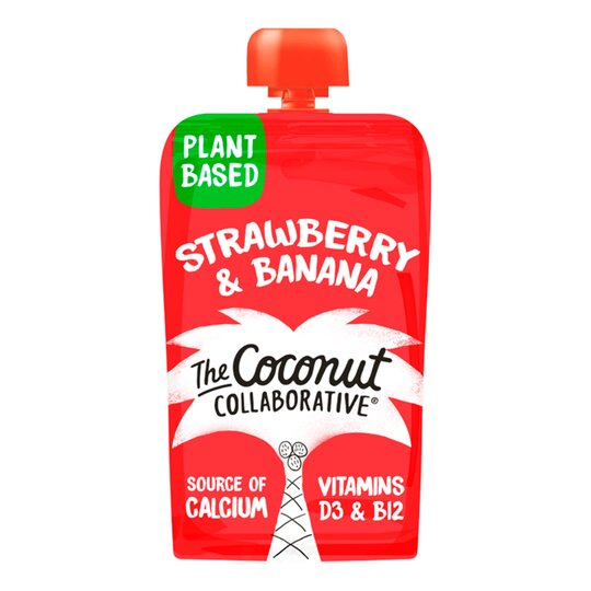 Little Coco Nutters Strawberry & Banana Puree 90G