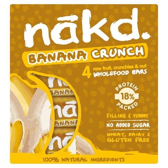 Nakd Banana Crunch 4X30g