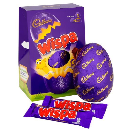 Cadbury Wispa Large Easter Egg 269g
