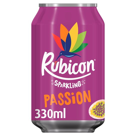 Rubicon Sparkling Passion Fruit Juice Drink 330Ml
