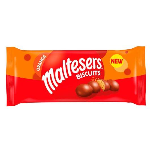 Malteser Chocolate Orange Biscuits 110G