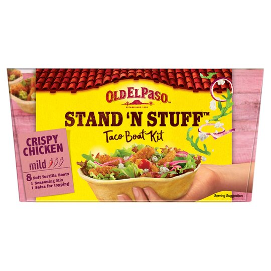 image 1 of Old El Paso Crispy Chicken Dinner Kit 351G