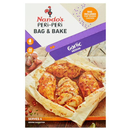 Nando's Peri Peri Garlic Bag & Bake 20G