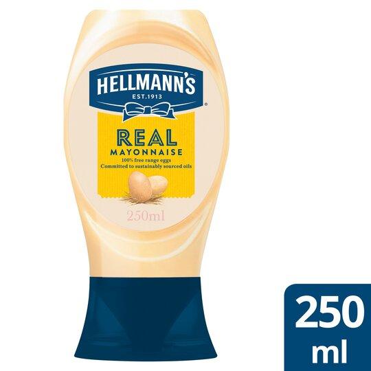 Hellmann's Real Squeezy Mayonnaise 250Ml