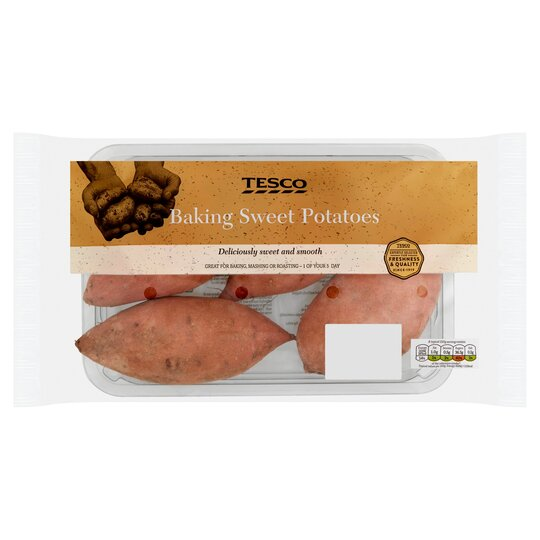 Tesco Baking Sweet Potatoes 1kg