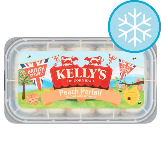 Kellys Ice Cream Peach Parfait 950 Ml