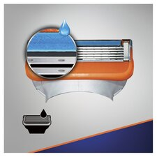 image 2 of Gillette Fusion Razor Blades Refill 4 Pack