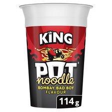 image 1 of Pot Noodle King Bombay Bad Boy 114G