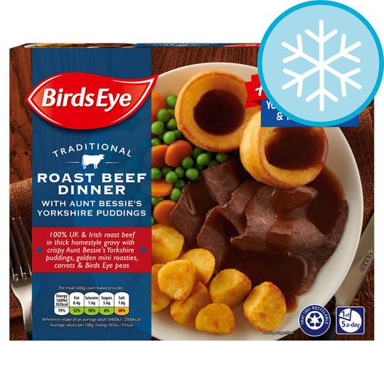 Birds Eye Traditional Beef Dinner 400G