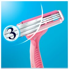 image 2 of Gillette Simply Venus 3 Blade Disposable Razors 4 Pack