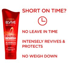 image 2 of L'oreal Elvive Colour Protect Rapid Conditioner 180Ml