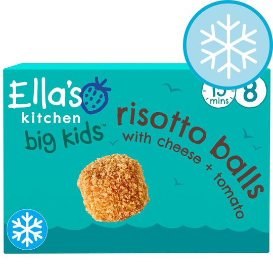 Ella's Kitchen Risotto Balls With Cheese & Tomato 8Pk 200G