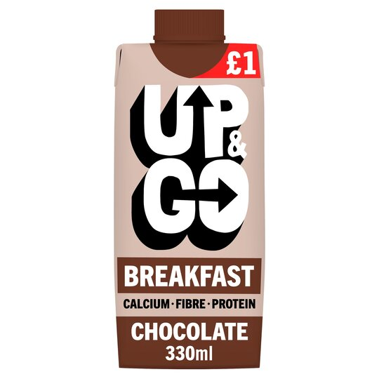 Up&Go Breakfast Drink Chocolate 330Ml