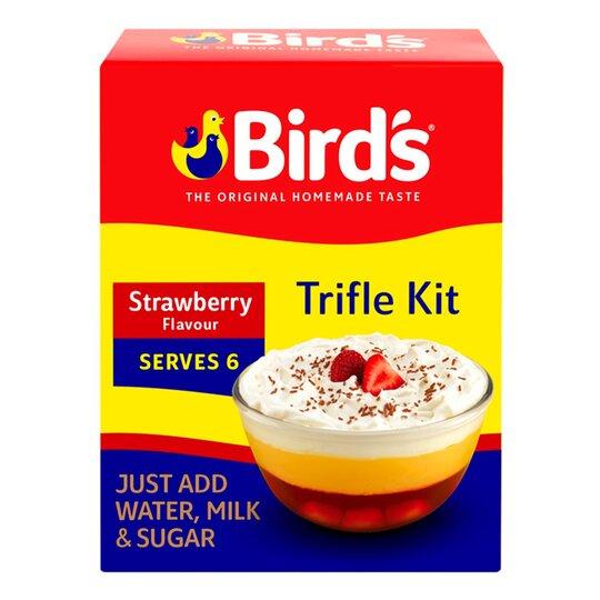 Birds Trifle Strawberry Serve 4-6 141G