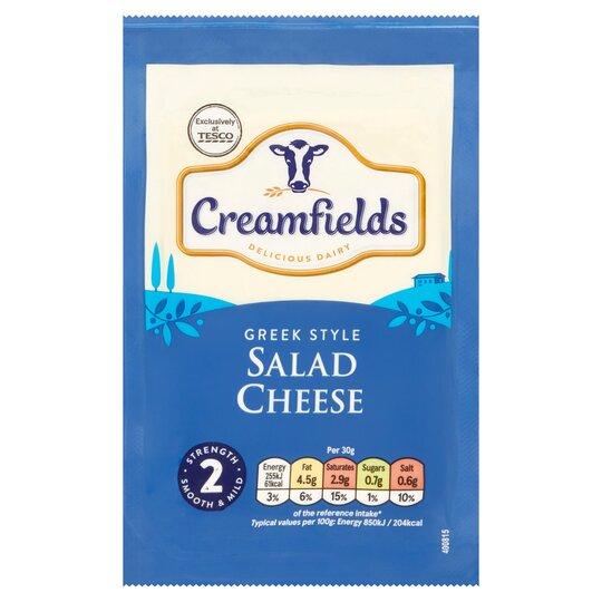 Creamfields Greek Style Salad Cheese 200G