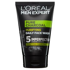 image 1 of L'Oreal Men Expert Charcoal Face Wash 100Ml