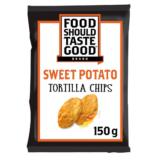 Food Should Taste Good Tortilla Chips Sweet Potato 150g