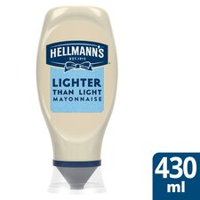 image 1 of Hellmann's Lighter Than Light Squeezy Mayonnaise 430Ml