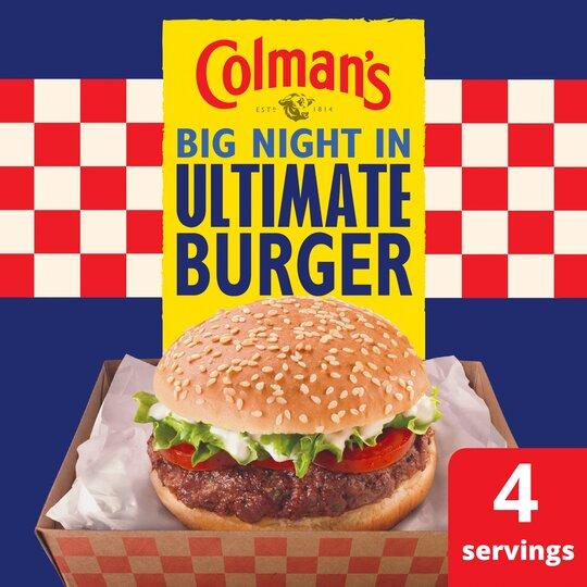 image 1 of Colman's Ultimate Burger Seasoning Mix 56G
