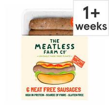image 1 of The Meatless Farm 6 Meat Free Sausages 300G
