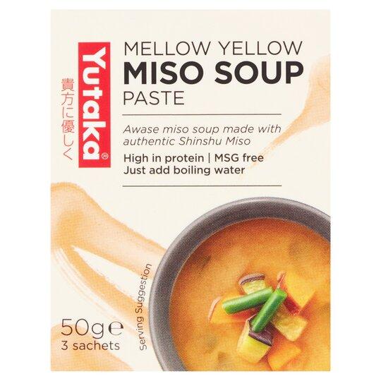 Yutaka Yellow Miso Soup 50G