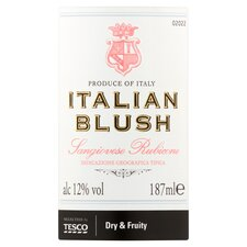 image 2 of Tesco Italian Rose Blush 187Ml