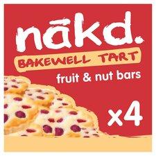 image 1 of Nakd Bakwell Tart Bars 4 Pack 140G