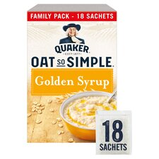 image 1 of Quaker Q/S/S Golden Syrup Porridge Sachet 18X36g