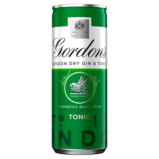 Gordon's Gin &Tonic 250Ml Can