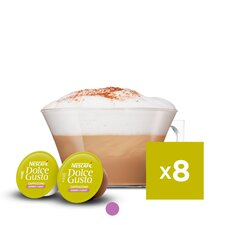 Nescafe Dolce Gusto Cappuccino Light Coffee Pods 160g Tesco Groceries