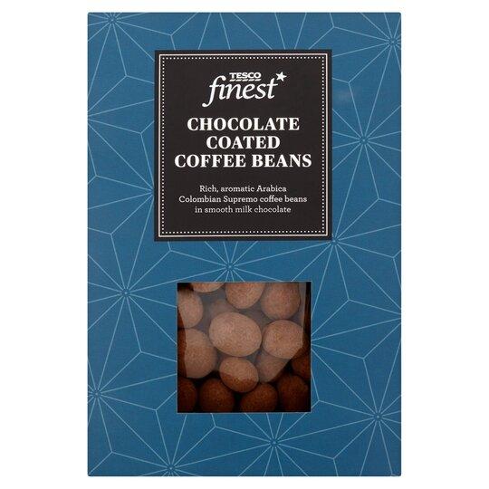 Tesco Finest Chocolate Coffee Bean100g Tesco Groceries