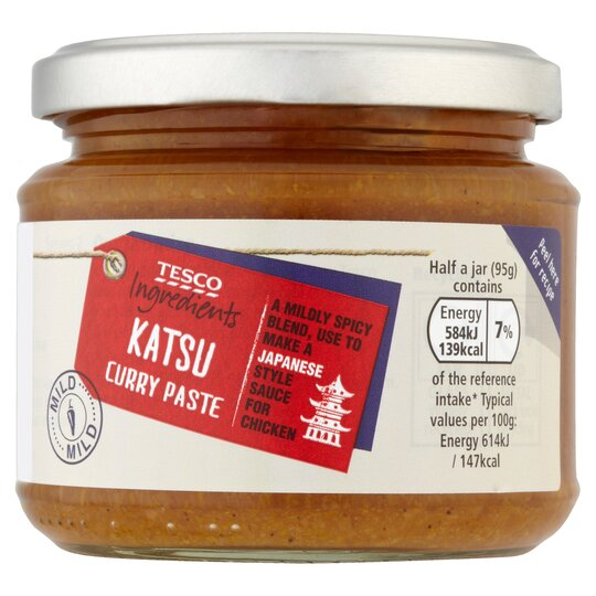 Tesco Ingredients Katsu Curry Paste 190g