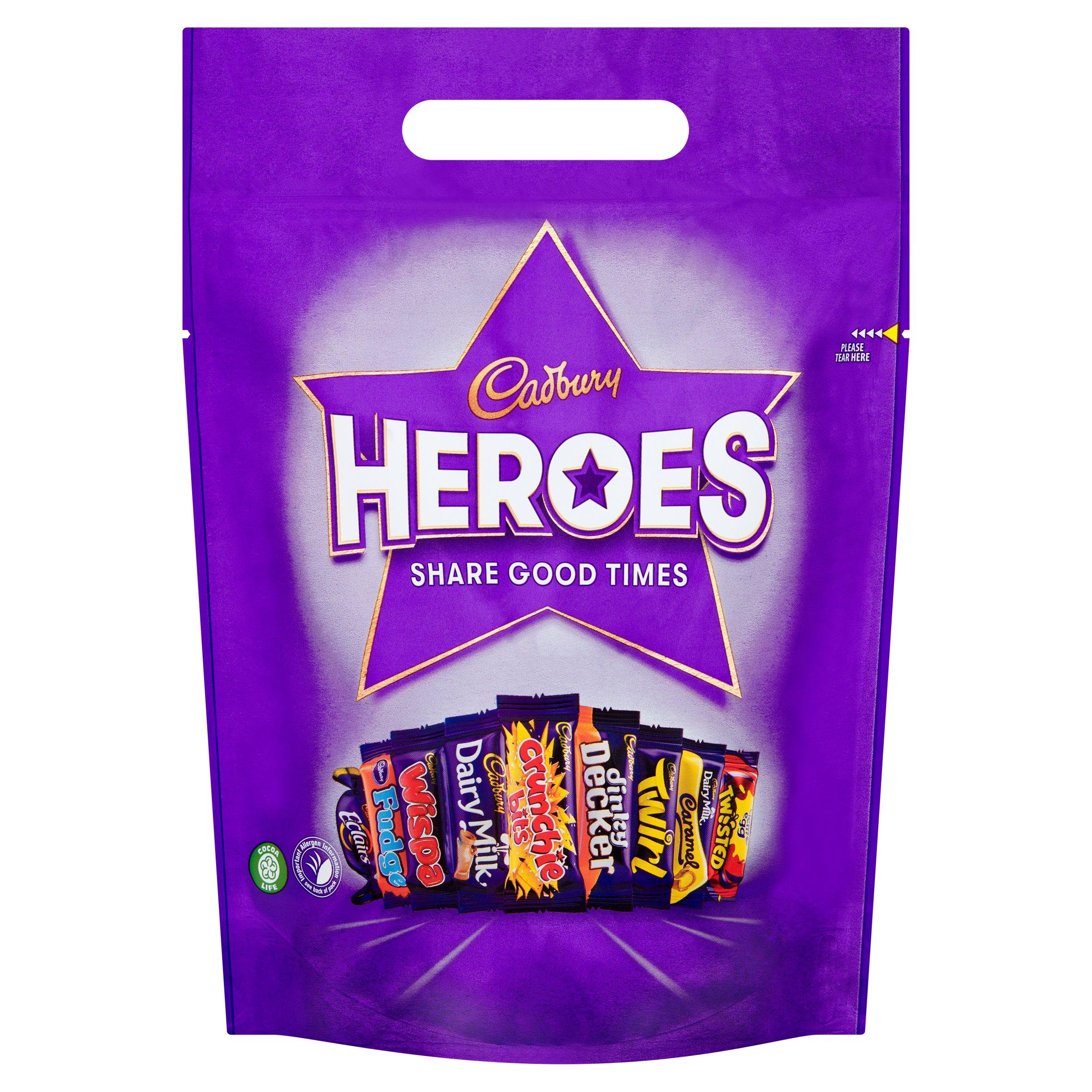 Cadbury Heroes Pouch 357G