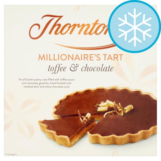 Thorntons Millionaires Tart 462G