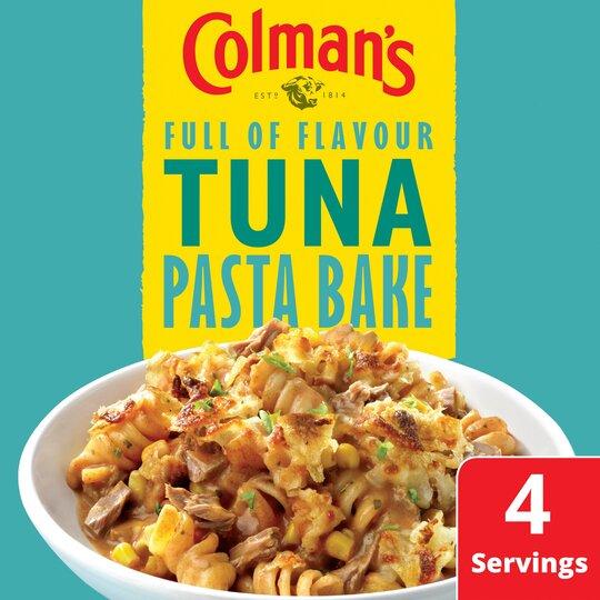 image 1 of Colman's Tuna Pasta Bake Recipe Mix 44G