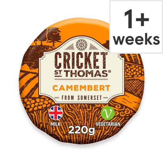 Cricket St Thomas Somerset Camembert 220G