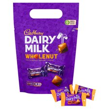 image 2 of Cadbury Dairy Milk Wholenut Pouch 350G