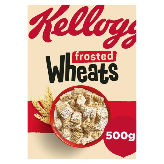 Kellog's Frosted Wheats 500G