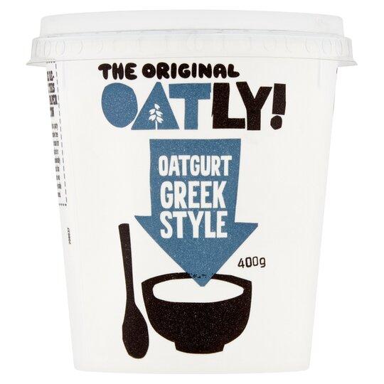 Oatly Greek Style Oatgurt 400G