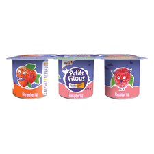 image 2 of Petits Filous Strawberry & Raspberry Fromage Frais 6 X 47G