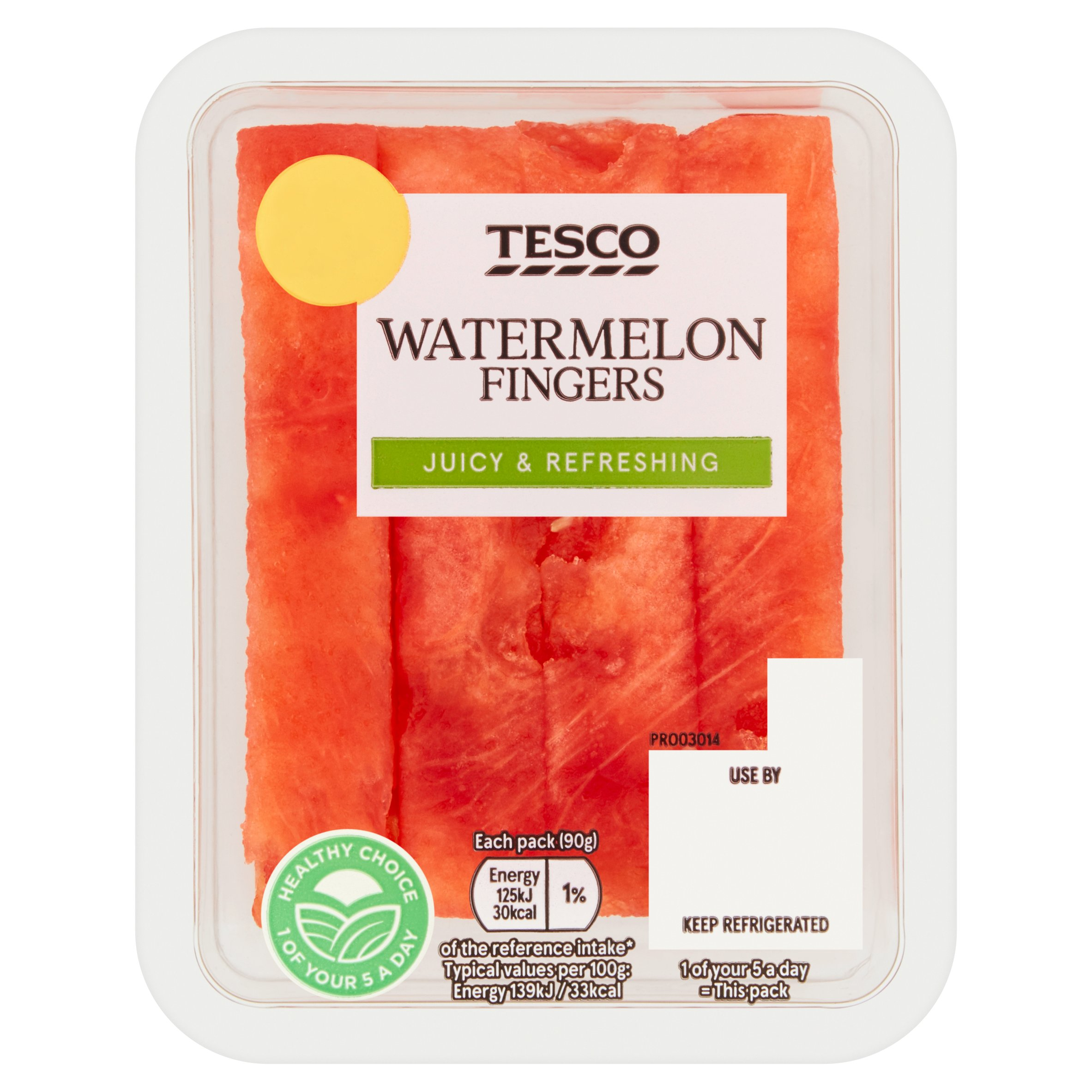 Tesco Watermelon Fingers 90G
