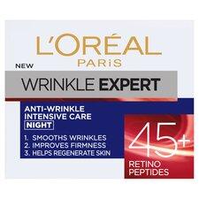 image 1 of L'oreal Paris Wrinkle Expert Night Pot 45+ Cream 50Ml