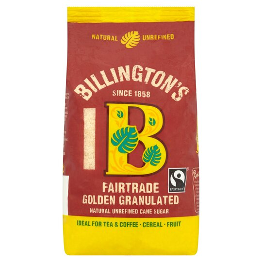 Billingtons Golden Granulated Sugar Fair Trade 500G