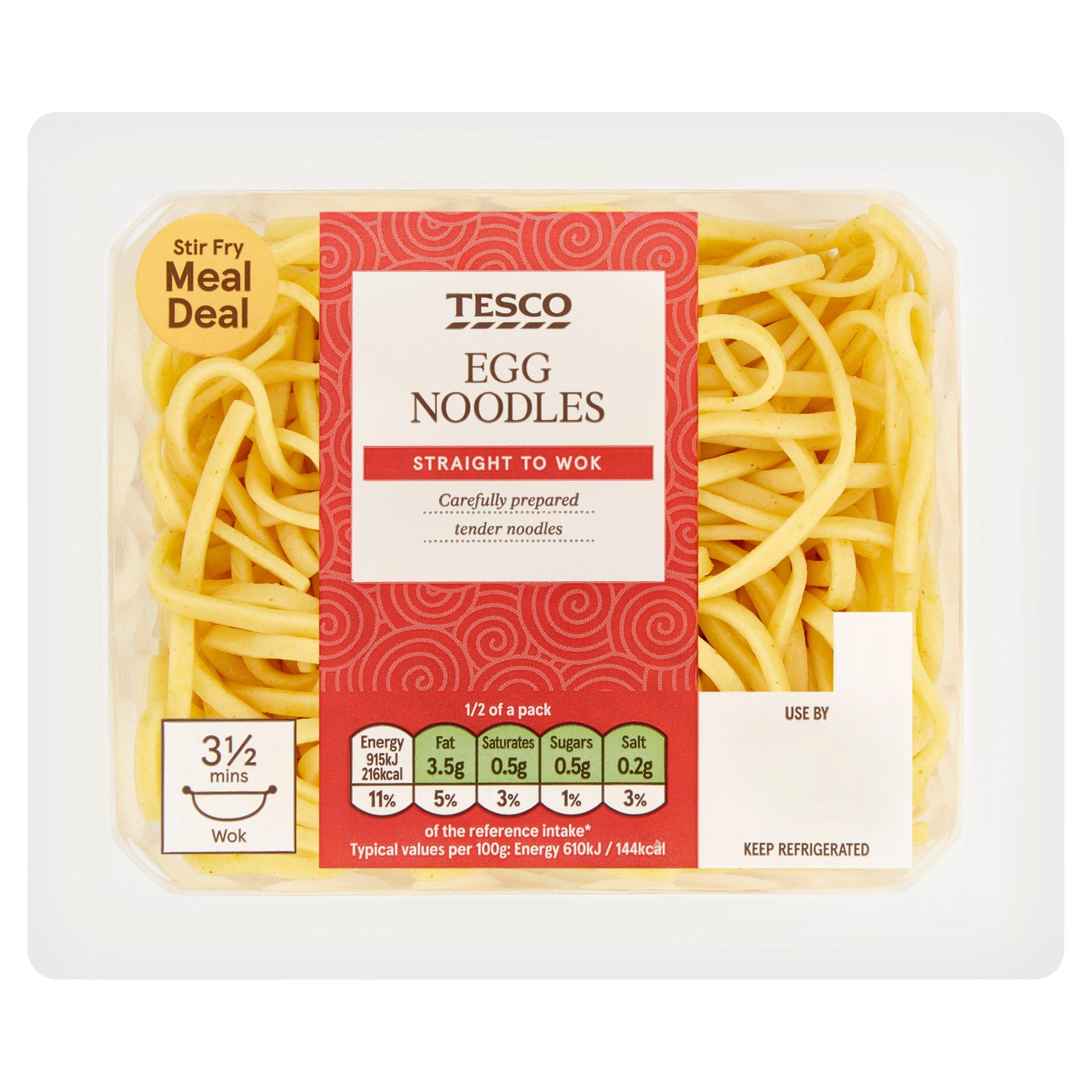 TESCO > Fresh Food > Tesco Egg Noodles 300G