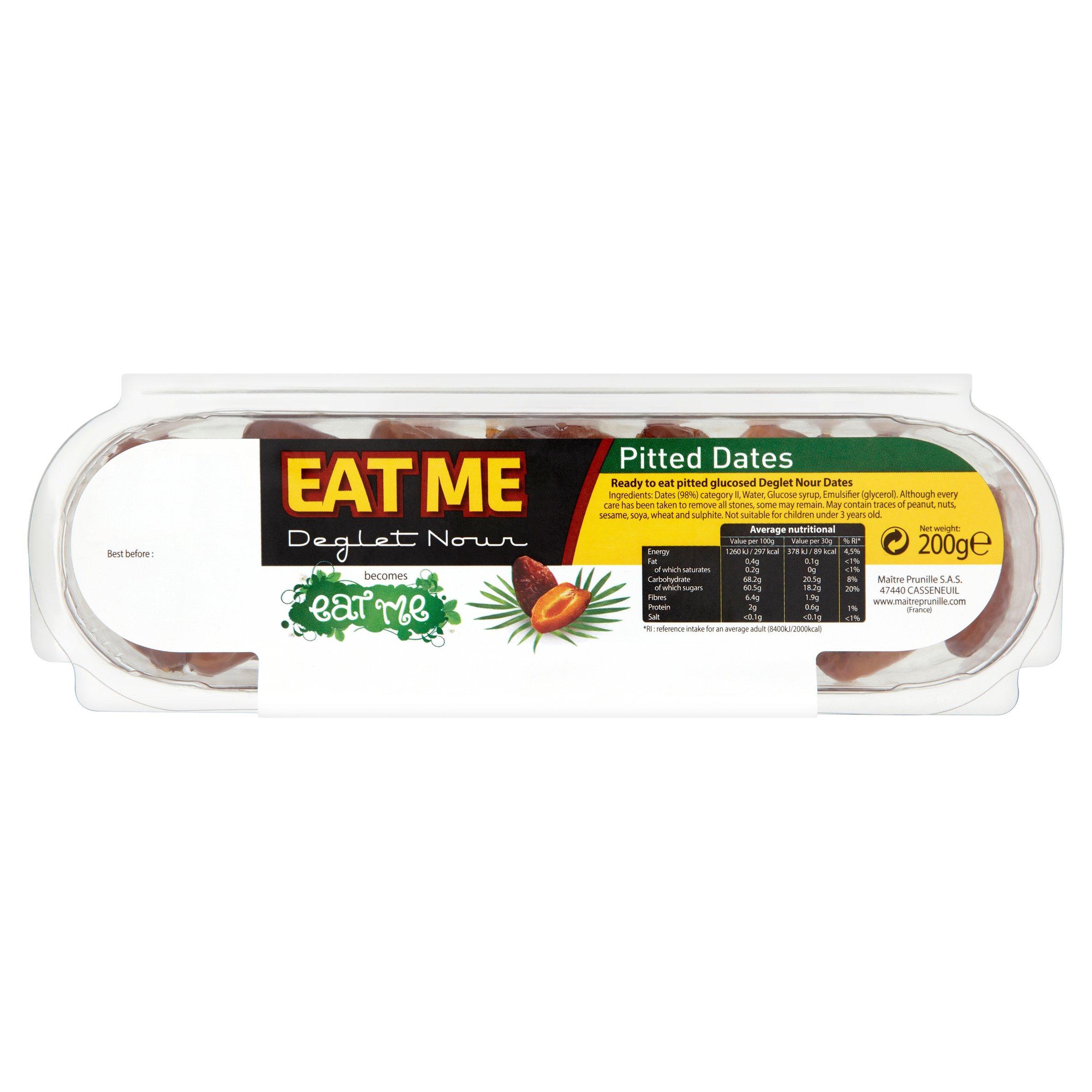 Eat Me Dates Deglet Nourishing Pitted 200G