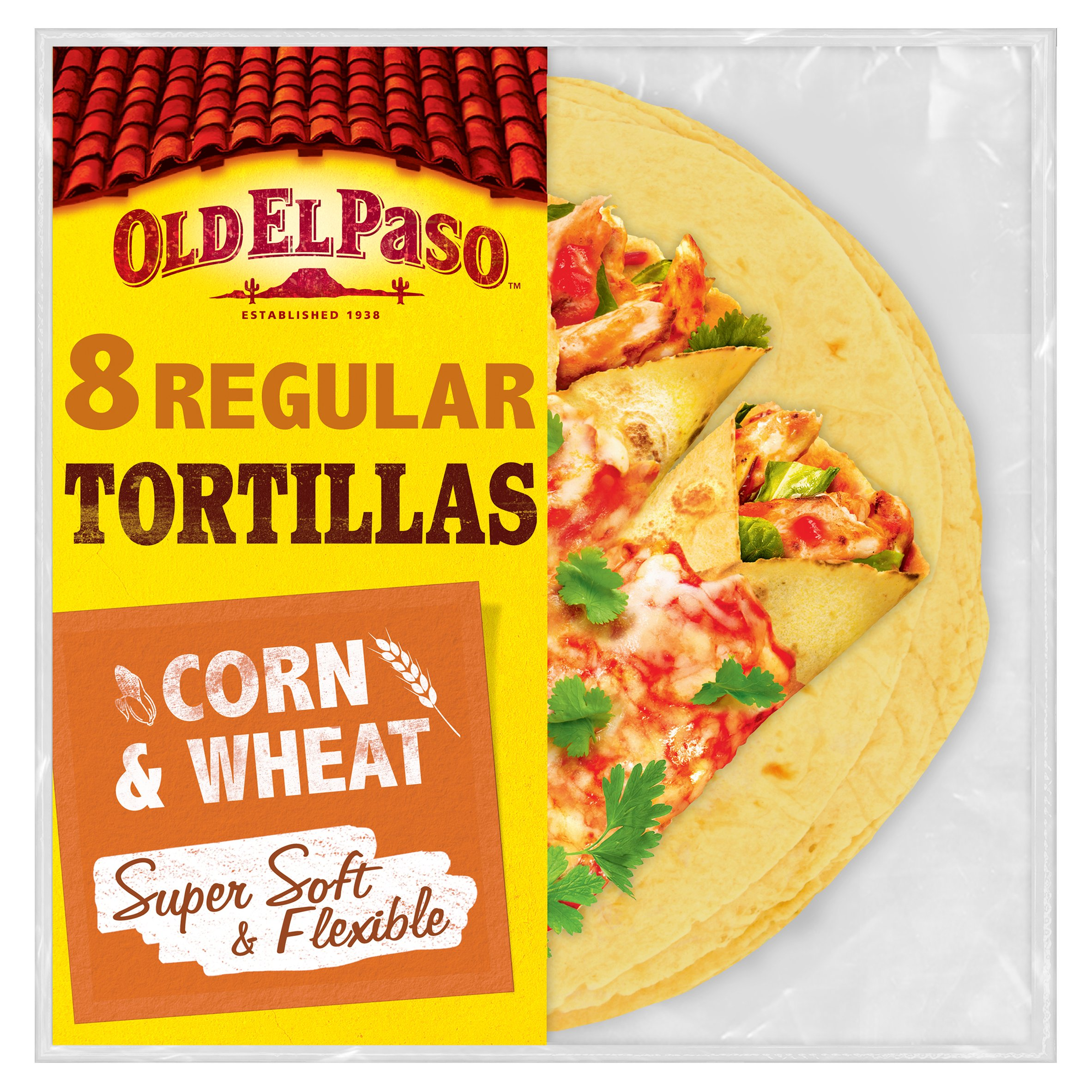 Old El Paso Corn Tortillas 335G