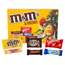 image 2 of M&M's & Friends Medium Selection Box 144G