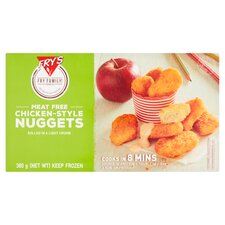 image 1 of Frys Meat Free Chicken Style Nuggets 380G