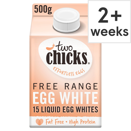 Two Chicks Free Range Liquid Egg White 500Ml