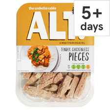 image 1 of The Unbelievable Alt. Chickenless Tender Pieces 180G